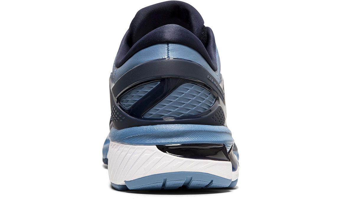 Men's Asics GEL-Kayano 26 Running Shoe - Color: Midnight/Grey (Regular Width) - Size: 6, Midnight, large, image 4