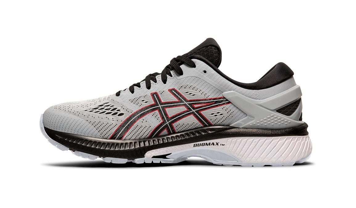 Men's Asics GEL-Kayano 26 Running Shoe - Color: Piedmont Grey/Black (Regular Width) - Size: 8, Grey/Black, large, image 2