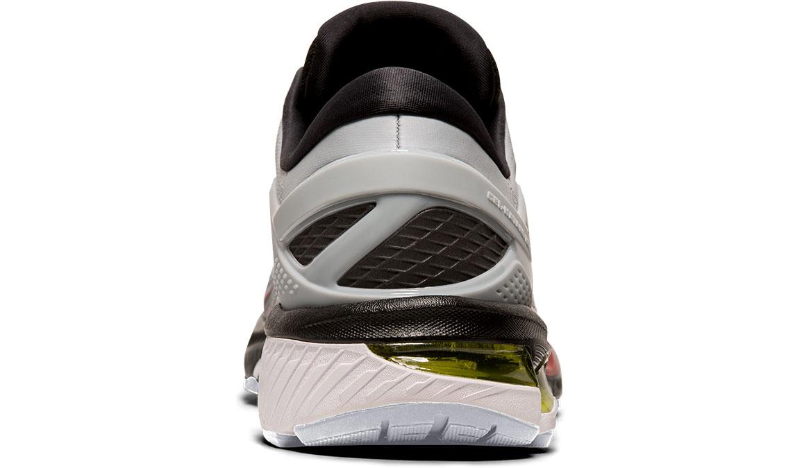 Men's Asics GEL-Kayano 26 Running Shoe - Color: Piedmont Grey/Black (Regular Width) - Size: 8, Grey/Black, large, image 4