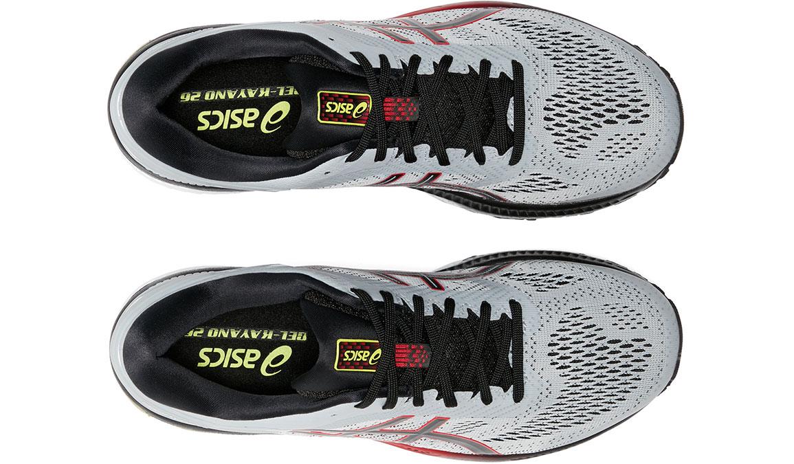Men's Asics GEL-Kayano 26 Running Shoe - Color: Piedmont Grey/Black (Regular Width) - Size: 8, Grey/Black, large, image 5