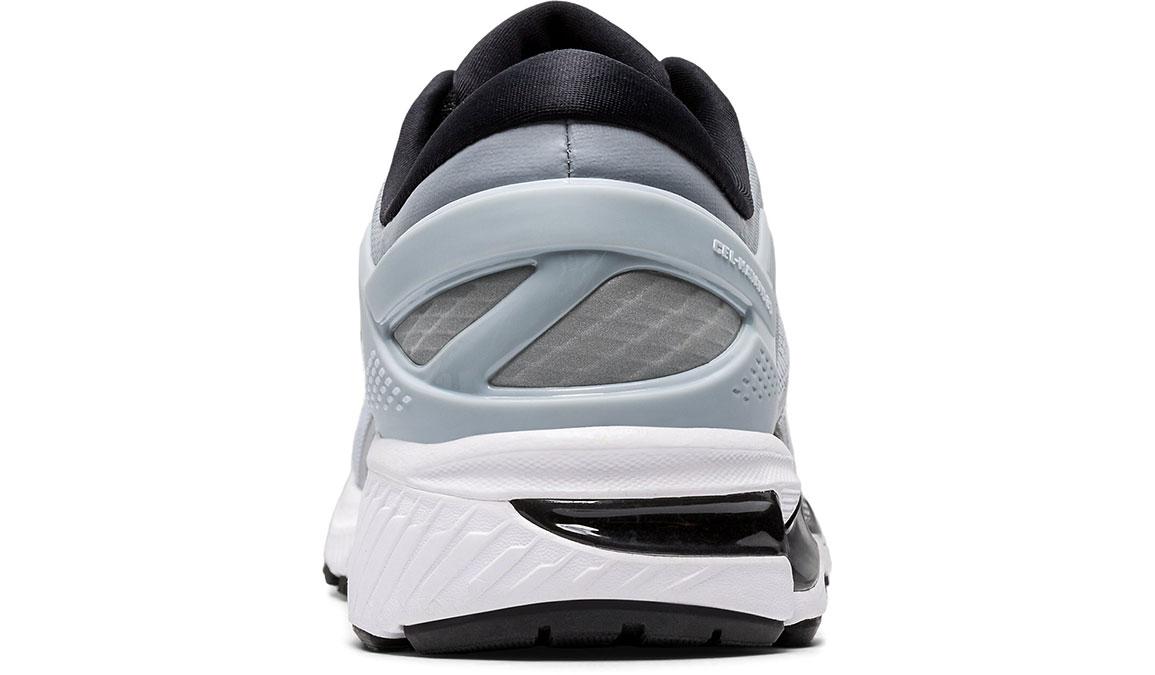 Men's Asics GEL-Kayano 26 Running Shoe - Color: Piedmont Grey/Pure Silver (Regular Width) - Size: 8, Platinum, large, image 4