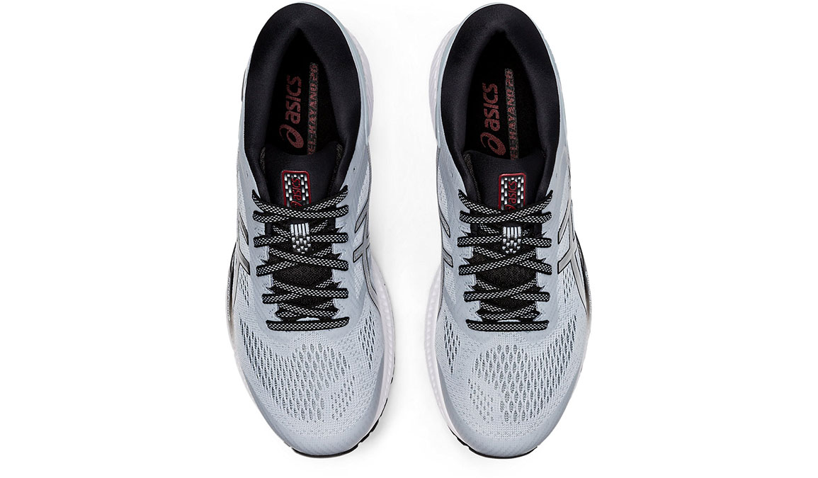 Men's Asics GEL-Kayano 26 Running Shoe - Color: Piedmont Grey/Pure Silver (Regular Width) - Size: 8, Platinum, large, image 5