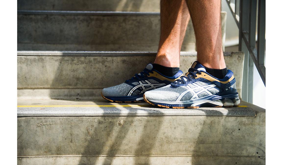 Men's Asics GEL-Kayano 26 Running Shoe - Color: Urban Explorer (Regular Width) - Size: 6, Glacier, large, image 1