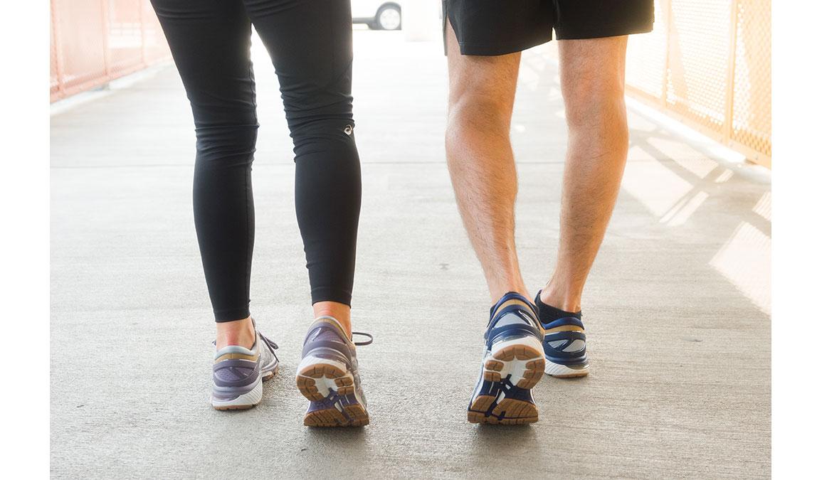 Men's Asics GEL-Kayano 26 Running Shoe - Color: Urban Explorer (Regular Width) - Size: 6, Glacier, large, image 4