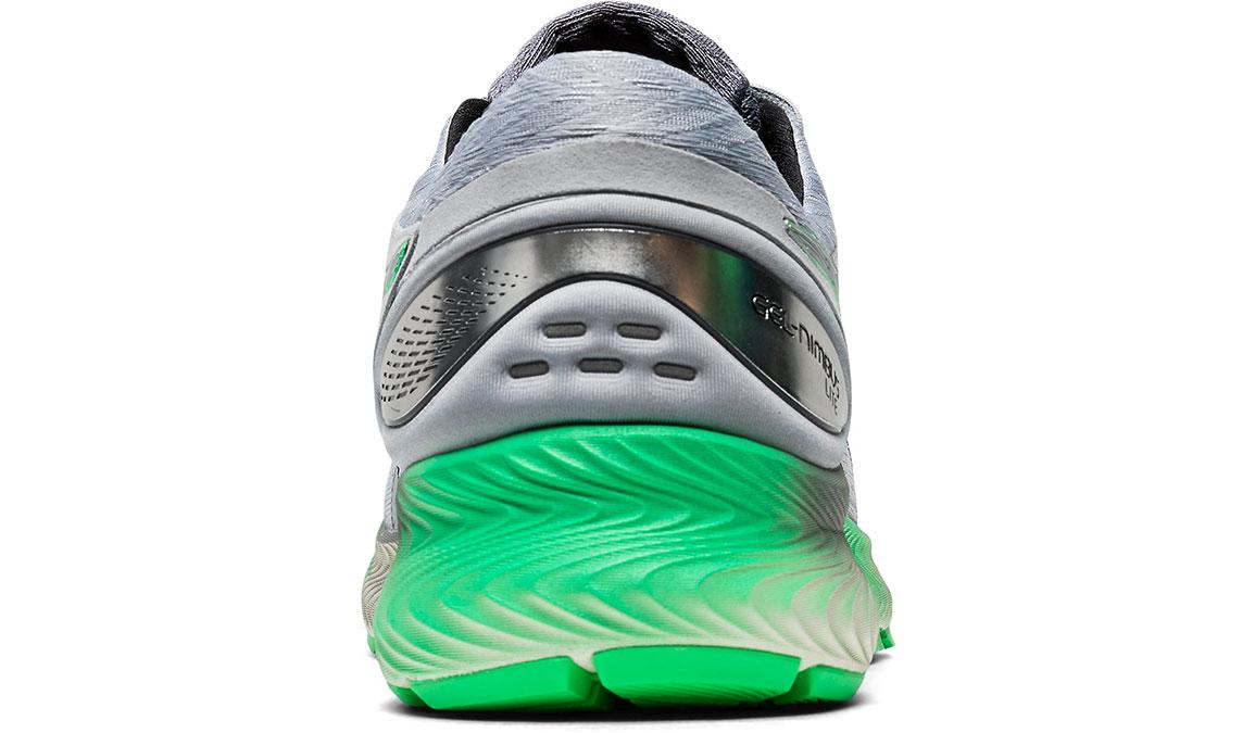 Men's Asics GEL-Nimbus Lite Running Shoe - Color: Piedmont Grey/Green (Regular Width) - Size: 8.5, Grey/Green, large, image 4