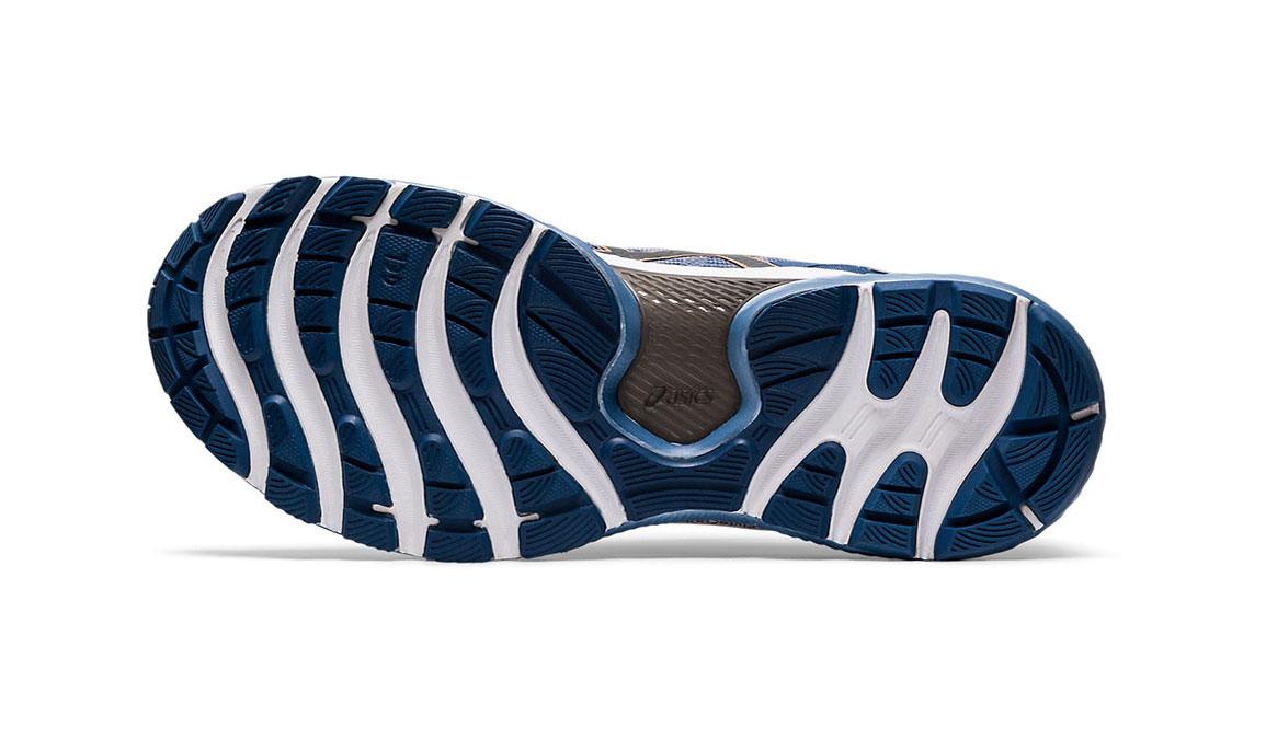 Men's Asics GEL-Nimbus 22 Running Shoe - Color: Sheet Rock/Graphite (Regular Width) - Size: 8, Blue/Grey, large, image 3