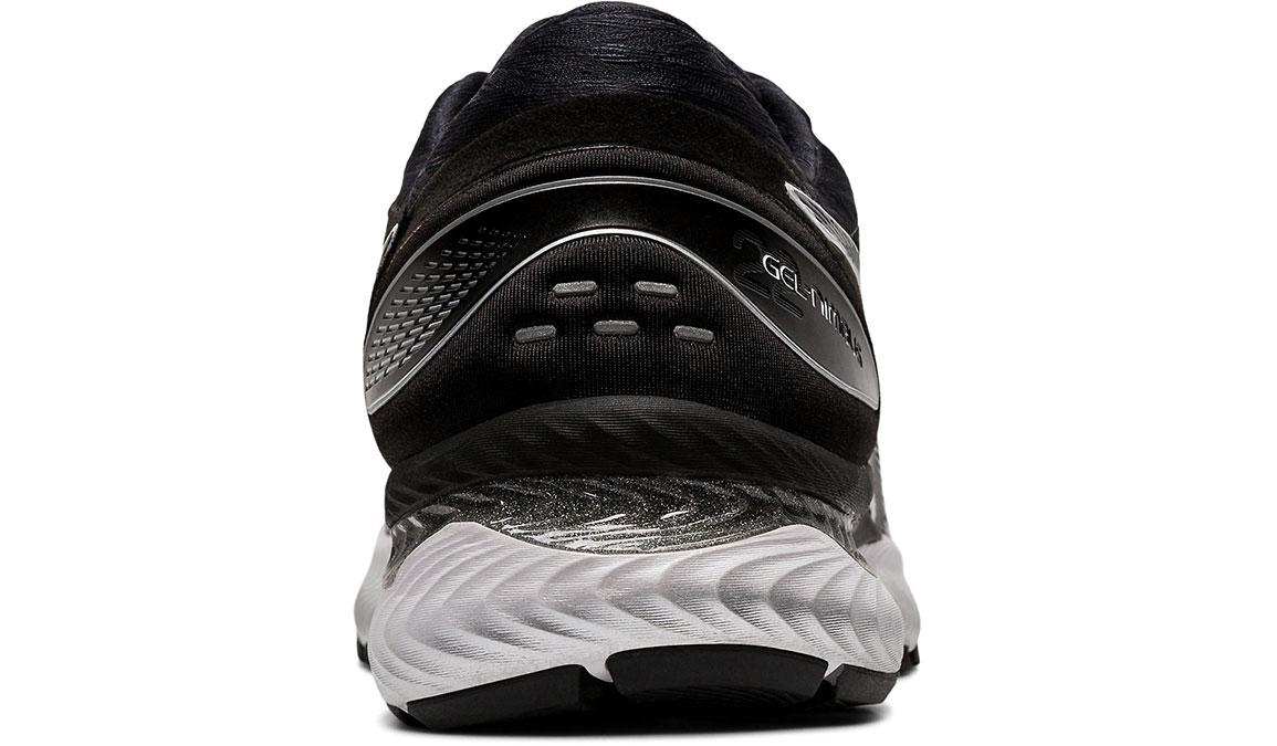Men's Asics GEL-Nimbus 22 Running Shoe - Color: White/Black (Regular Width) - Size: 8.5, White/Black, large, image 4