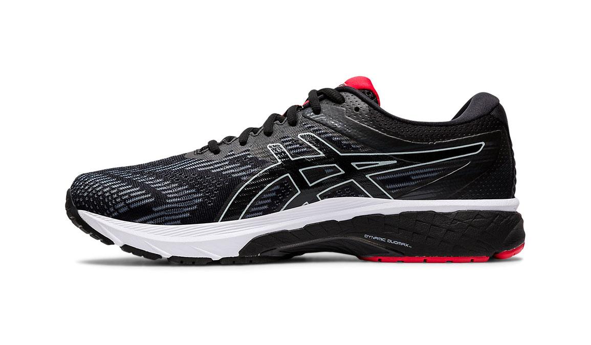 Men's Asics GT-2000 8 Running Shoe - Color: Black/Sheet Rock (Regular Width) - Size: 6, Black/Red, large, image 2