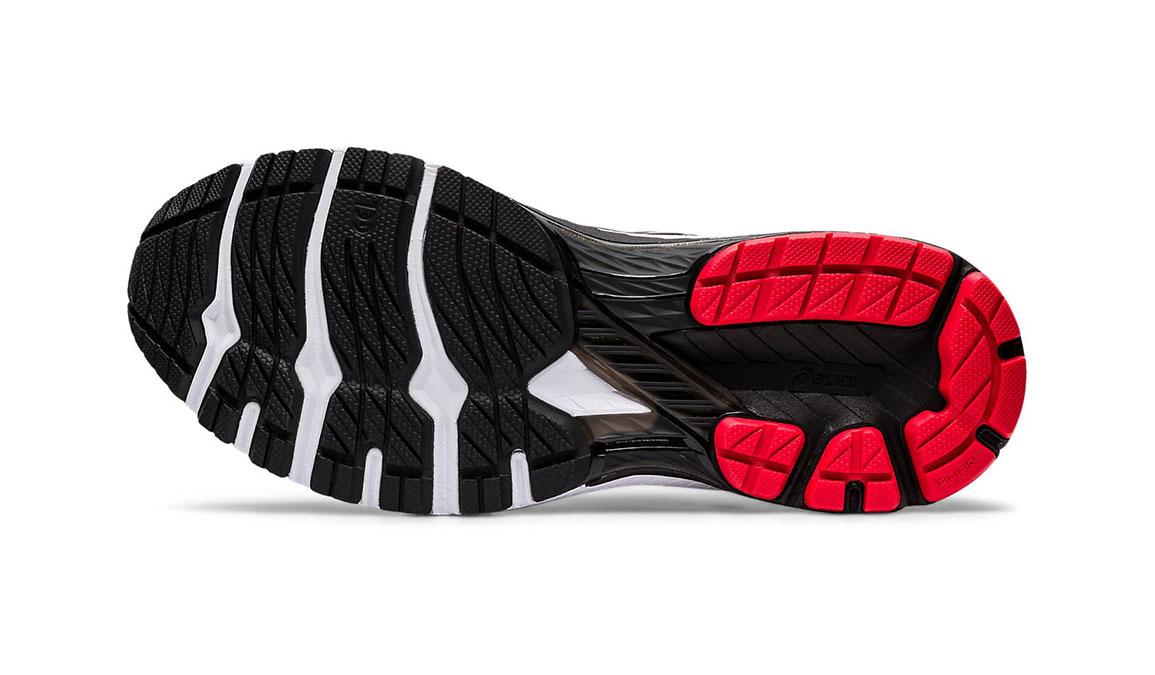 Men's Asics GT-2000 8 Running Shoe - Color: Black/Sheet Rock (Regular Width) - Size: 6, Black/Red, large, image 3