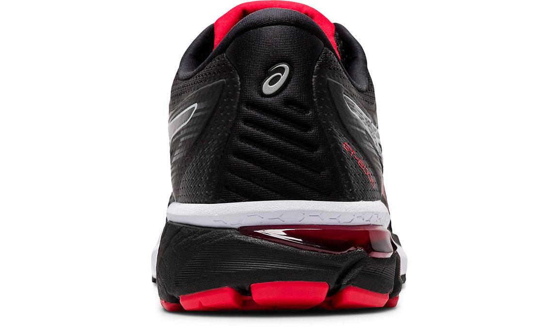 Men's Asics GT-2000 8 Running Shoe - Color: Black/Sheet Rock (Regular Width) - Size: 6, Black/Red, large, image 4