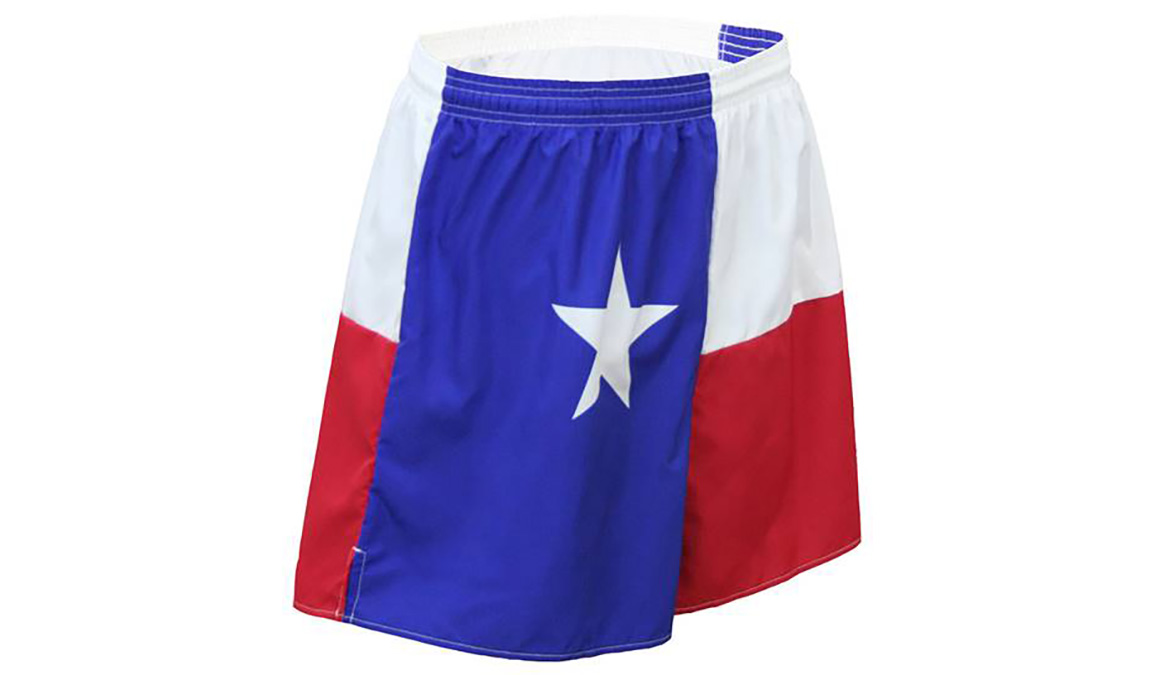 "Men's Texas Flag 5.5"" V-Notch Shorts - Color: Texas Flag - Size: S, Multi, large, image 3"