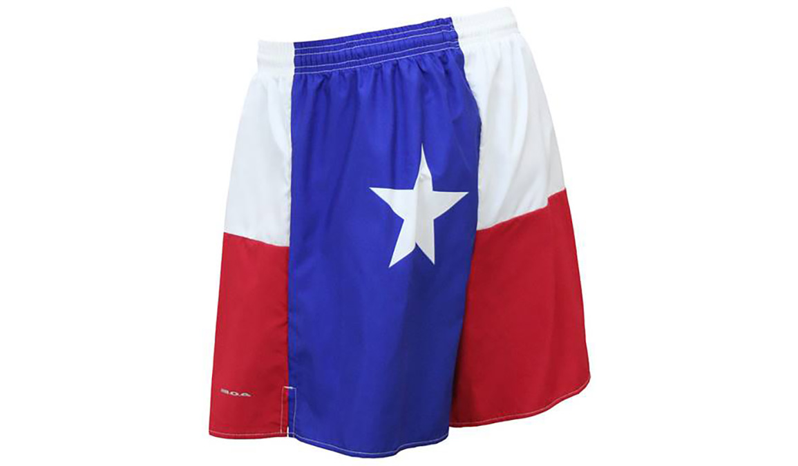 "Men's Texas Flag 5.5"" V-Notch Shorts - Color: Texas Flag - Size: S, Multi, large, image 4"