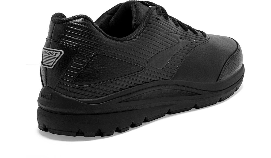 Men's Brooks Addiction Walker 2 Walking Shoe - Color: Black/Black (Wide Width) - Size: 9, Black, large, image 3