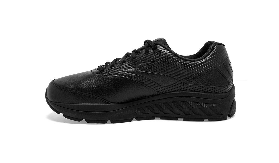 Men's Brooks Addiction Walker 2 Walking Shoe - Color: Black/Black (Wide Width) - Size: 9, Black, large, image 4