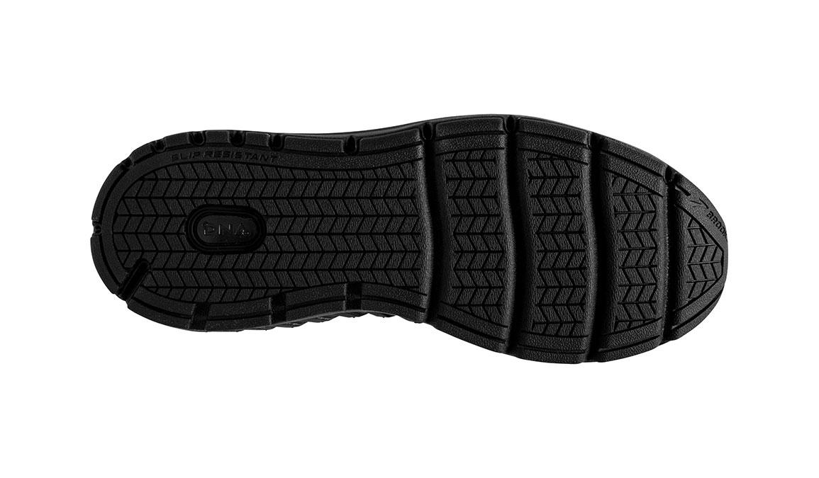 Men's Brooks Addiction Walker 2 Walking Shoe - Color: Black/Black (Wide Width) - Size: 9, Black, large, image 6