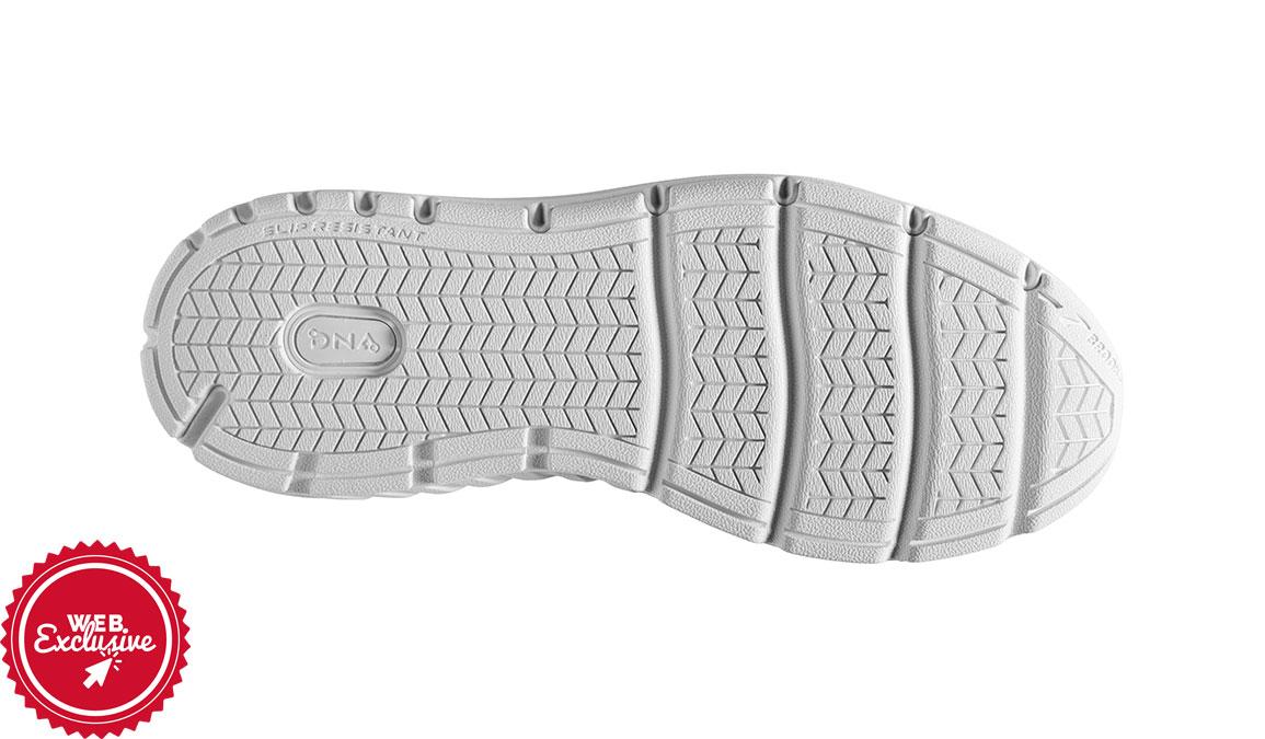 Men's Brooks Addiction Walker 2 Walking Shoe - Color: White/White (Regular Width) - Size: 8.5, White/White, large, image 6