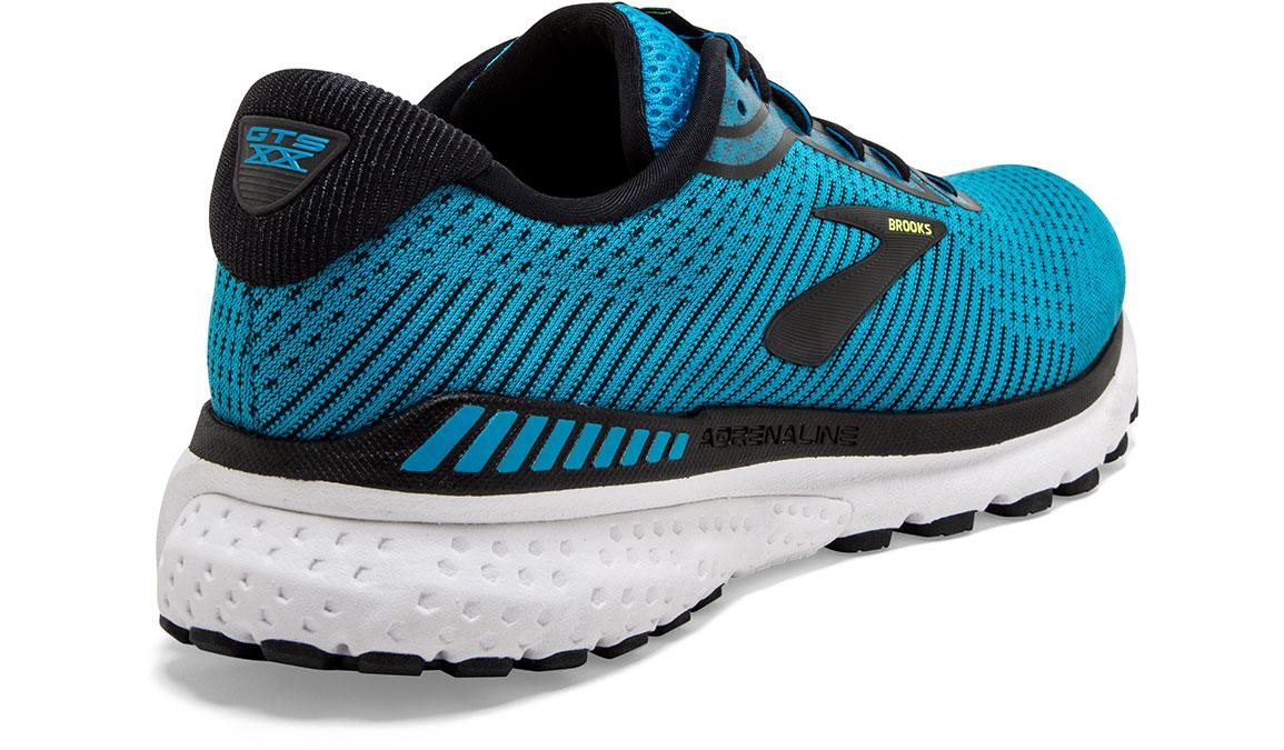 Men's Brooks Adrenaline GTS 20 Running Shoe - Color: Blue/Black/Nightlife (Regular Width) - Size: 10.5, Blue/Black, large, image 2