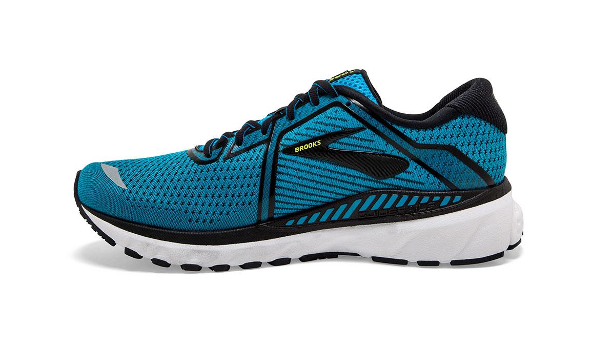 Men's Brooks Adrenaline GTS 20 Running Shoe - Color: Blue/Black/Nightlife (Regular Width) - Size: 10.5, Blue/Black, large, image 4