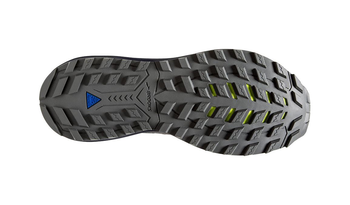 Men's Brooks Cascadia 14 Trail Running Shoe - Color: Grey/Navy (Regular Width) - Size: 9, Grey/Navy, large, image 6