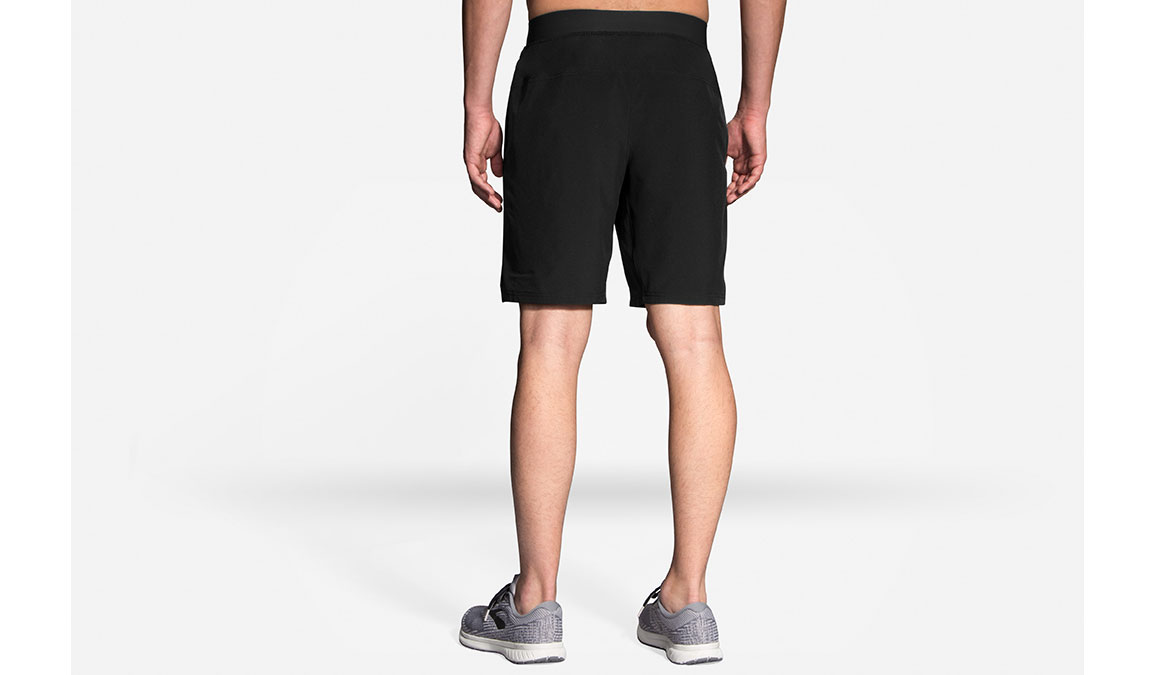 "Men's Brooks Equip 9"" Shorts - Color: Black Size: S, Black, large, image 2"