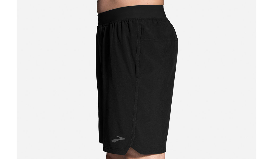 "Men's Brooks Equip 9"" Shorts - Color: Black Size: S, Black, large, image 4"
