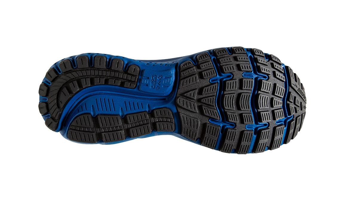 Men's Brooks Ghost 12 Running Shoe - Color: Black/True Blue (Regular Width) - Size: 8, Black/Blue, large, image 6