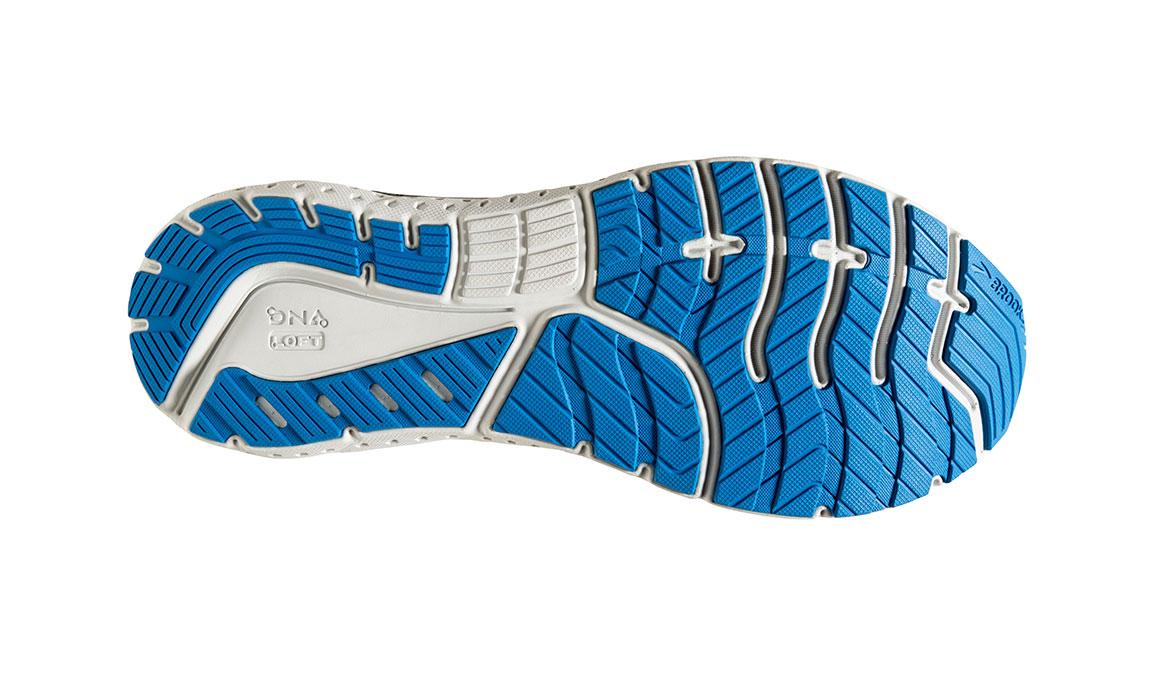 Men's Brooks Glycerin 18 Running Shoe - Color: Black/Blue (Regular Width) - Size: 8.5, Black/Blue, large, image 6