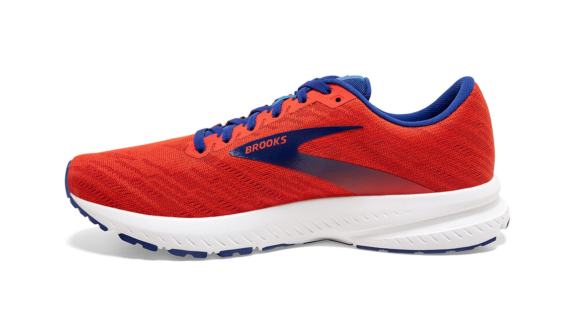 Men's Brooks Launch 7 Running Shoe - Color: Cherry/Red (Regular Width) - Size: 8.5, Cherry, large, image 2