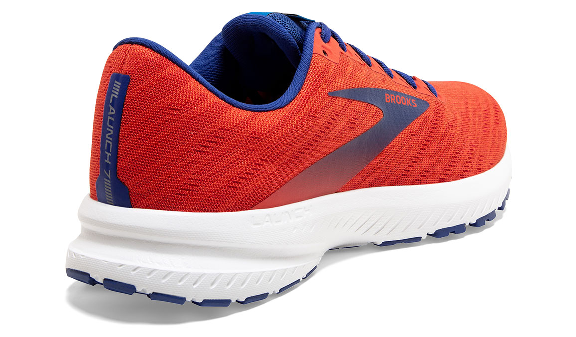Men's Brooks Launch 7 Running Shoe - Color: Cherry/Red (Regular Width) - Size: 8.5, Cherry, large, image 4