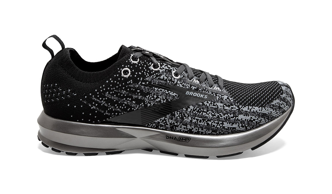 Men's Brooks Levitate 3 Running Shoe - Color: Black/Ebony/Silver (Regular Width) - Size: 8.5, Black/Silver, large, image 1