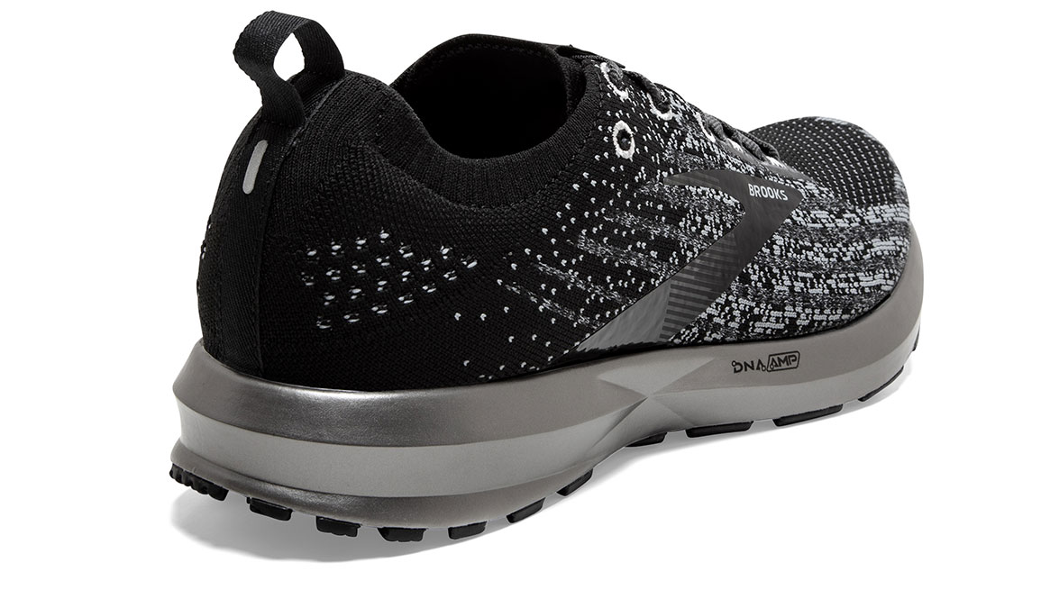 Men's Brooks Levitate 3 Running Shoe - Color: Black/Ebony/Silver (Regular Width) - Size: 8.5, Black/Silver, large, image 3