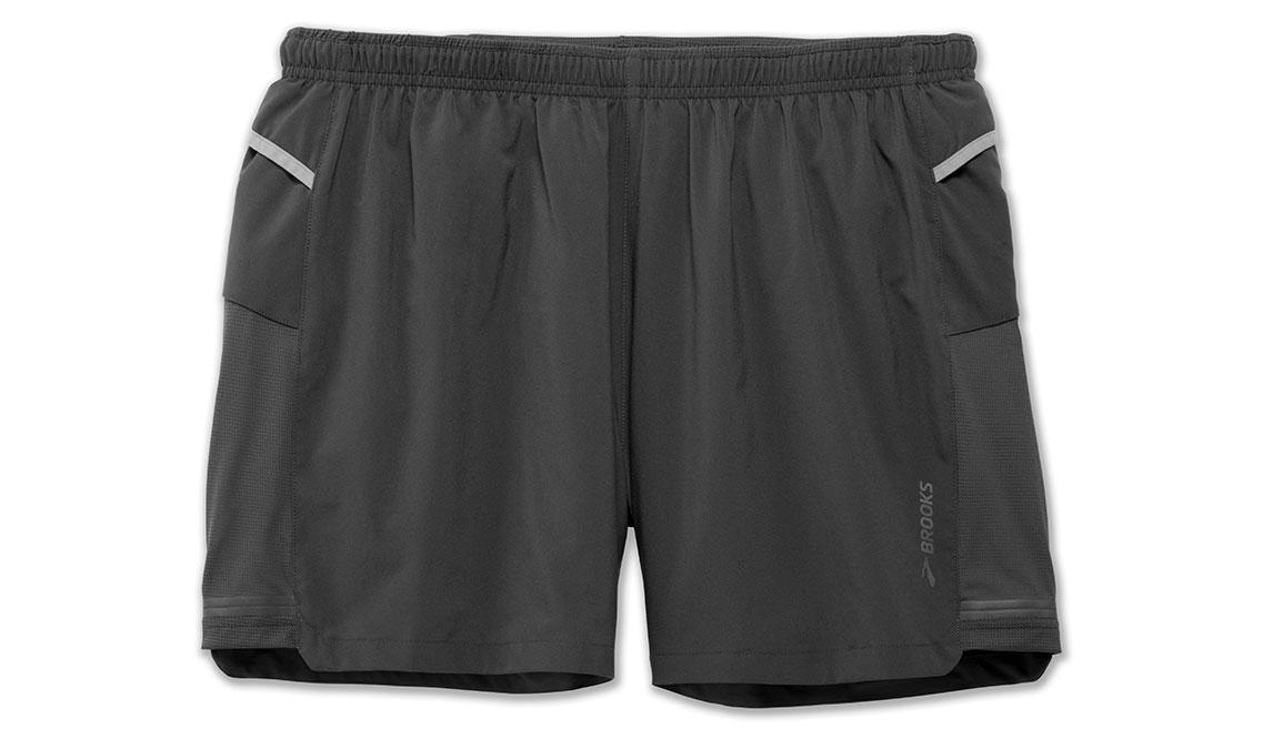 """Men's Brooks Sherpa 5"""" Short - Color: Asphalt - Size: XS, Asphalt, large, image 4"""
