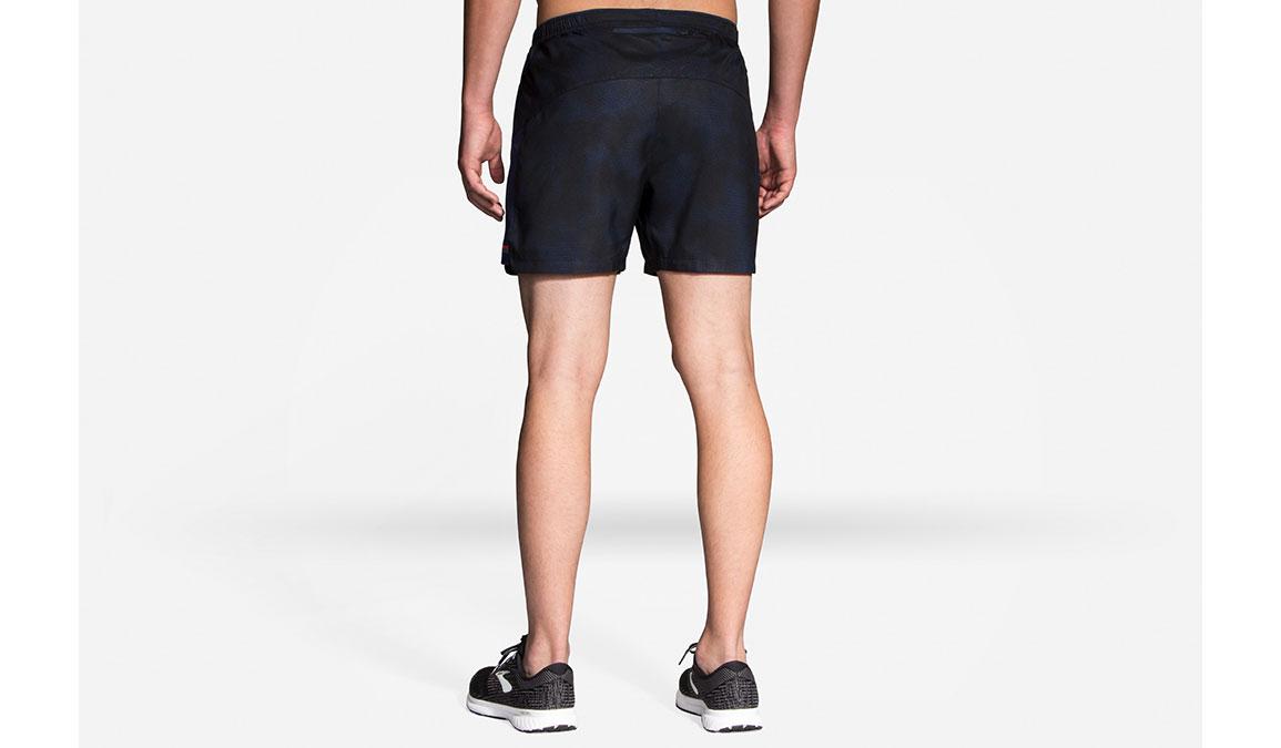 "Men's Brooks Sherpa 5"" Short - Color: Navy Haze - Size: M, Navy Haze, large, image 1"