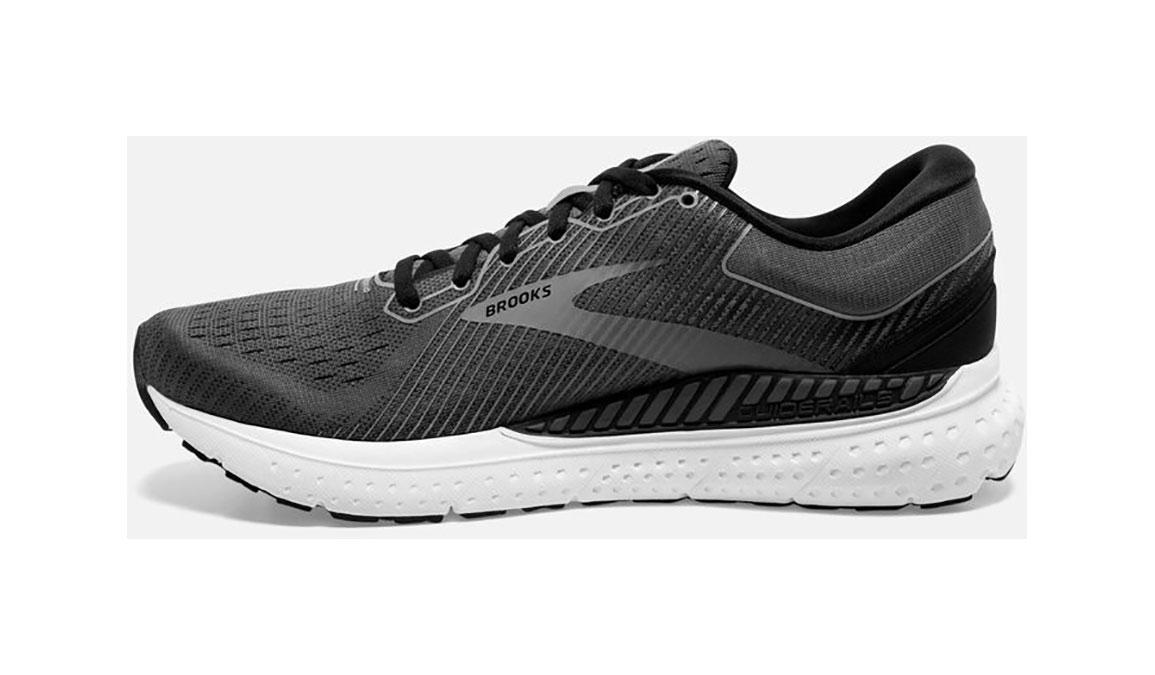 Men's Brooks Transcend 7 Running Shoe - Color: Black/Ebony (Regular Width) - Size: 12, Black, large, image 3