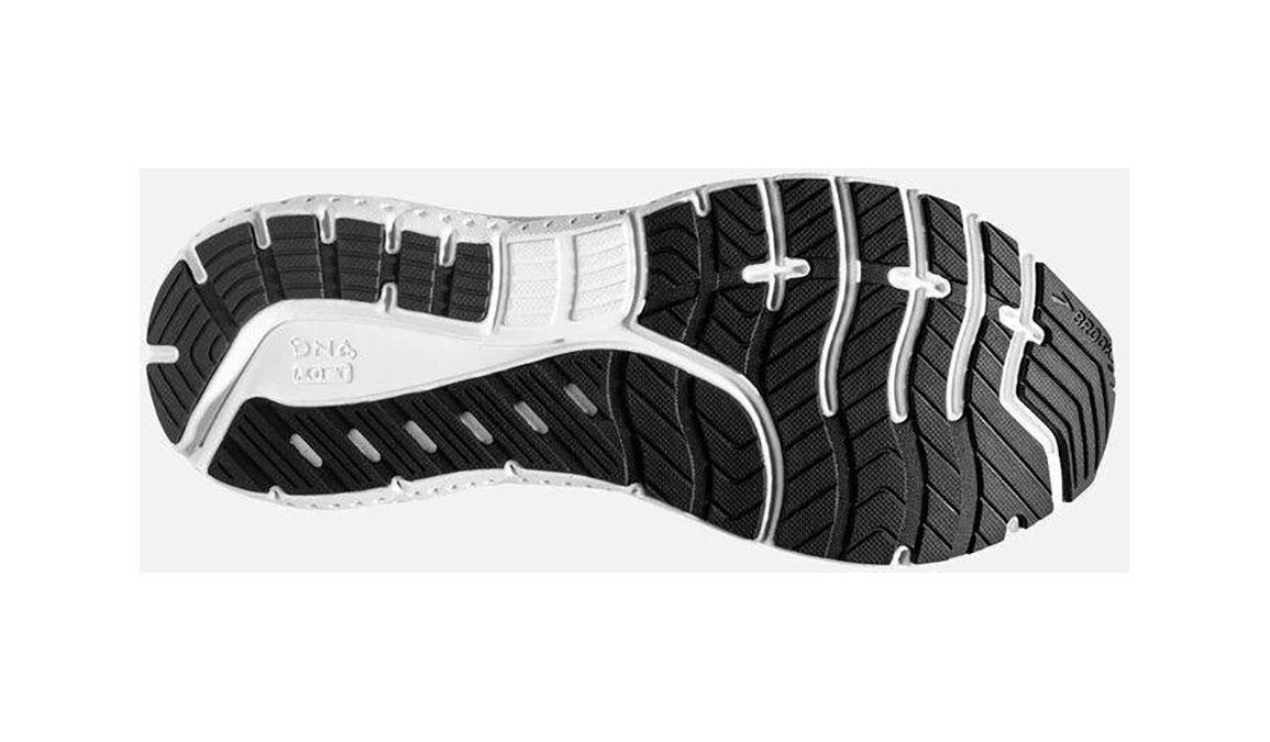 Men's Brooks Transcend 7 Running Shoe - Color: Black/Ebony (Regular Width) - Size: 12, Black, large, image 4