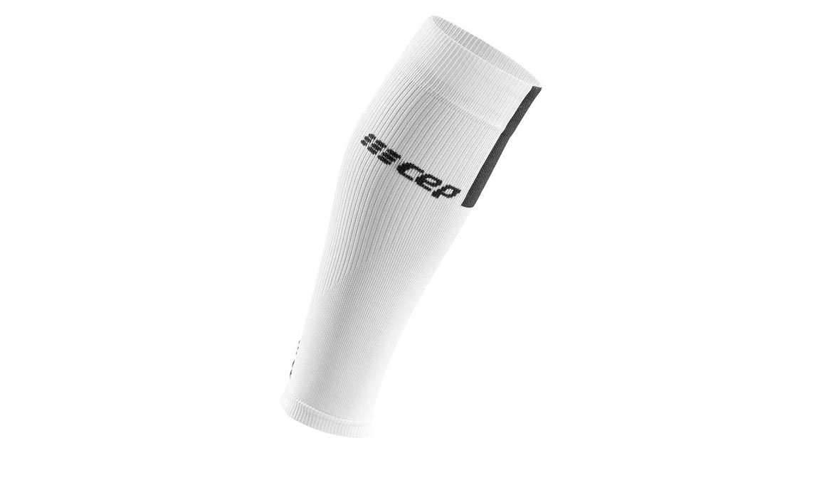Men's Cep Compression Calf Sleeves 3.0 - Color: White/Dark Grey Size: III, White/Grey, large, image 1