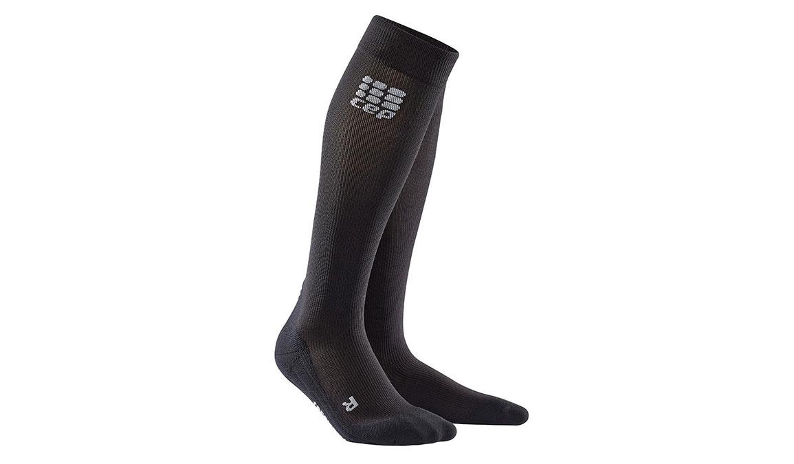 Men's CEP Compression Progressive+ Run Socks 2.0 - Color: Black Size: III, Black, large, image 1