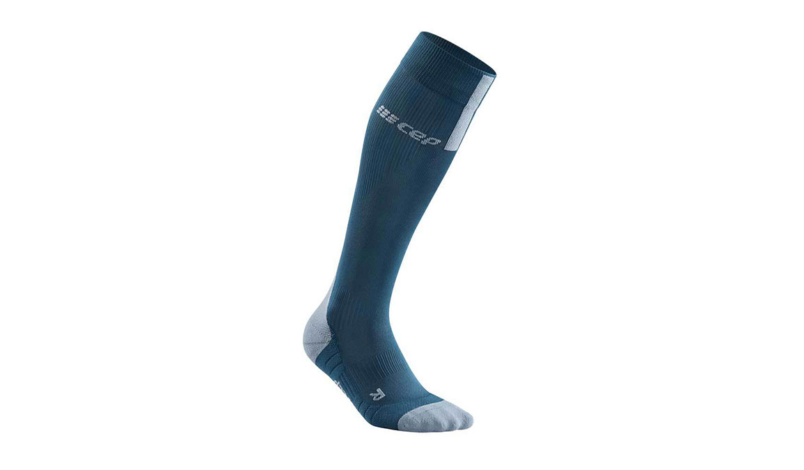 Men's Cep Compression Tall Socks 3.0 - Color: Blue/Grey Size: III, Blue/Grey, large, image 1