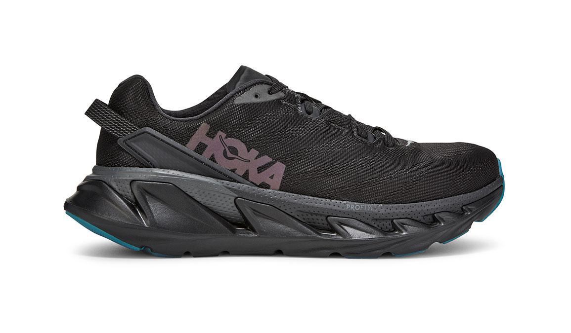 Men's Hoka One One Elevon 2 Running Shoe - Color: Black/Dark Shadow (Regular Width) - Size: 10.5, Black/Dark Shadow, large, image 1