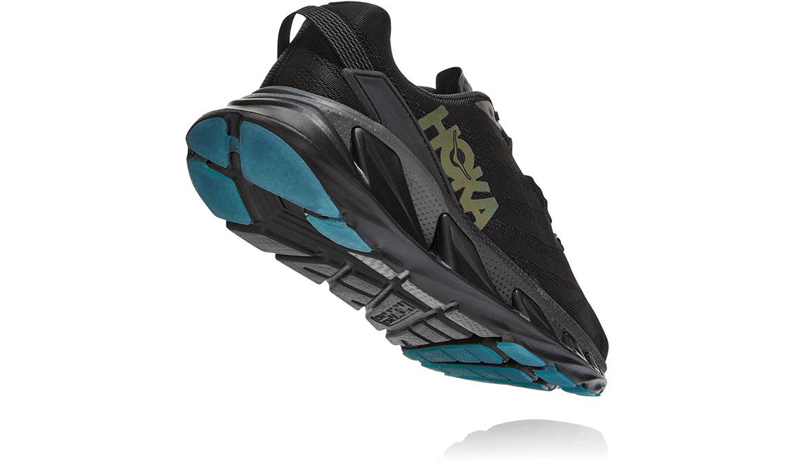 Men's Hoka One One Elevon 2 Running Shoe - Color: Black/Dark Shadow (Regular Width) - Size: 10.5, Black/Dark Shadow, large, image 4