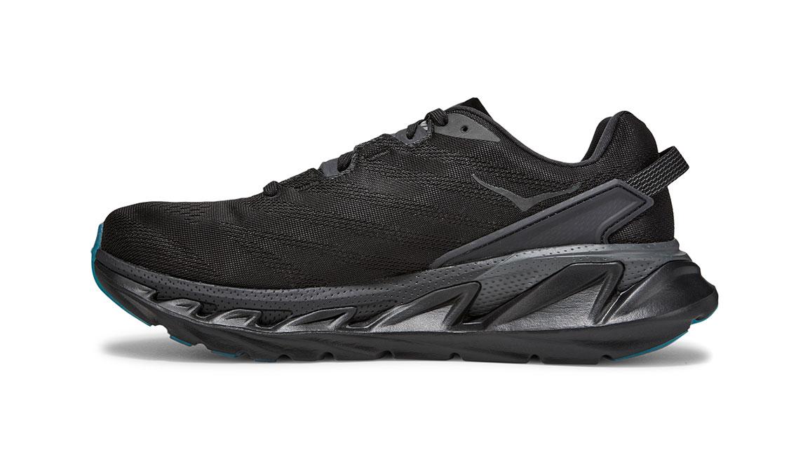 Men's Hoka One One Elevon 2 Running Shoe - Color: Black/Dark Shadow (Regular Width) - Size: 10.5, Black/Dark Shadow, large, image 2