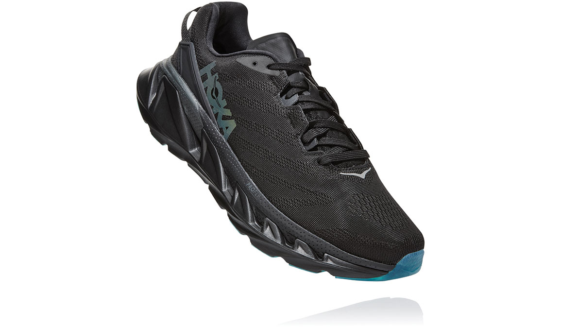 Men's Hoka One One Elevon 2 Running Shoe - Color: Black/Dark Shadow (Regular Width) - Size: 10.5, Black/Dark Shadow, large, image 3