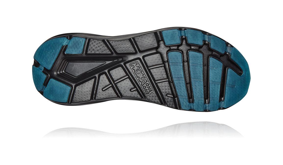 Men's Hoka One One Elevon 2 Running Shoe - Color: Black/Dark Shadow (Regular Width) - Size: 10.5, Black/Dark Shadow, large, image 6