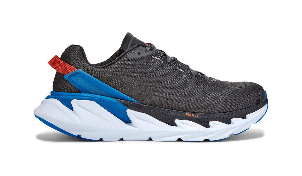 Men's Hoka One One Elevon 2 Running Shoe - Color: Dark Shadow/Imperial Blue (Regular Width) - Size: 7, Dark Shadow/Imperial Blue, large, image 1