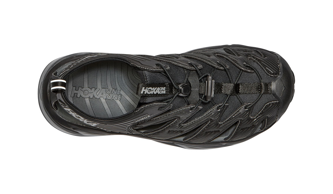 Men's Hoka One One Hopara Hiking Shoe - Color: Black/Dark Shadow (Regular Width) - Size: 7, Black/Dark Shadow, large, image 2
