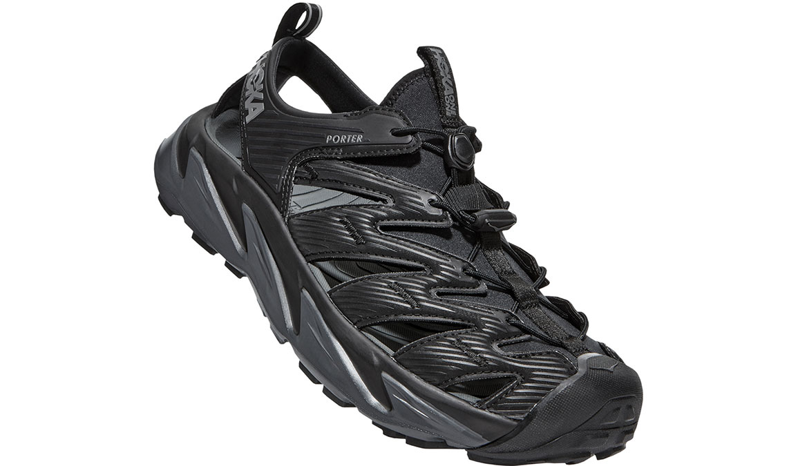 Men's Hoka One One Hopara Hiking Shoe - Color: Black/Dark Shadow (Regular Width) - Size: 7, Black/Dark Shadow, large, image 4
