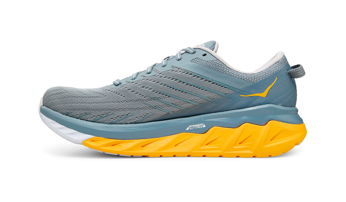 Men's Hoka One One Arahi 4 Running Shoe - Color: Lead/Lunar Rock (Regular Width) - Size: 9, Lead/Lunar Rock, large, image 2