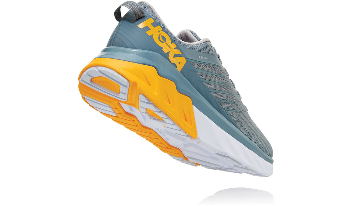 Men's Hoka One One Arahi 4 Running Shoe - Color: Lead/Lunar Rock (Regular Width) - Size: 9, Lead/Lunar Rock, large, image 4