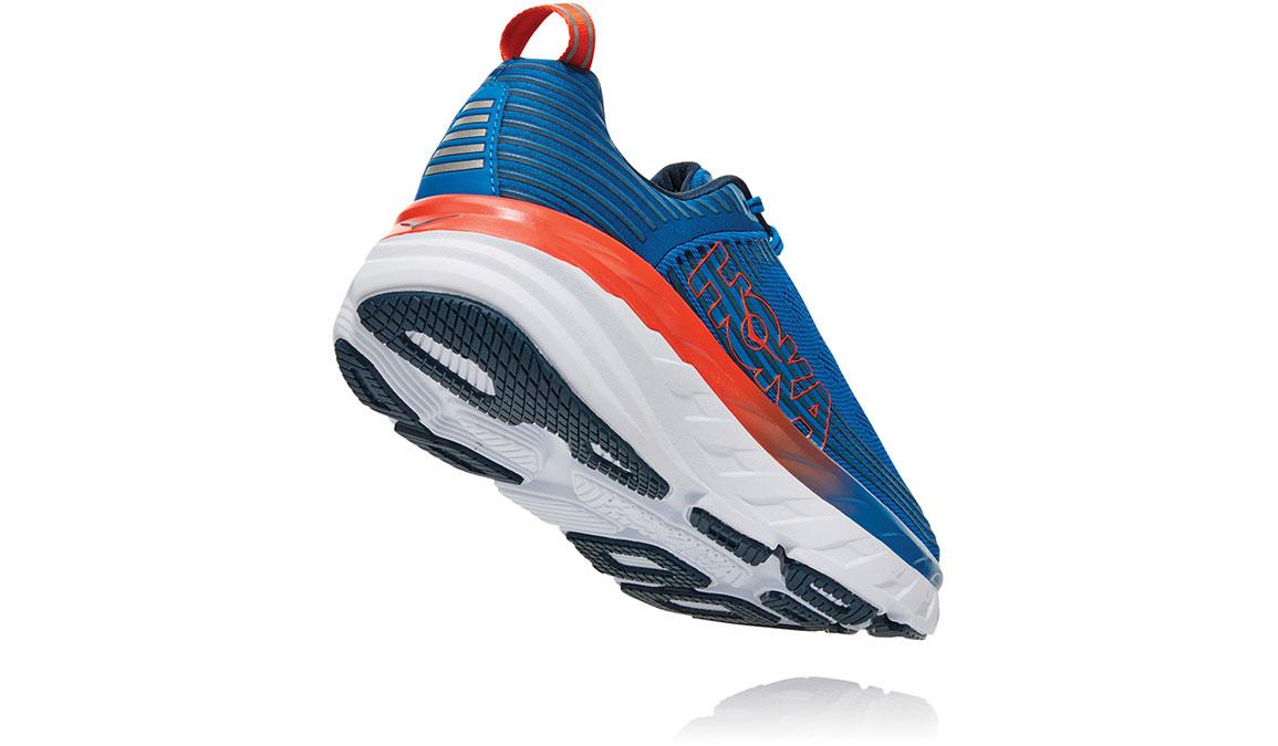 Men's Hoka One One Bondi 6 Running Shoe - Color: Imperial Blue/Majolica Blue (Regular Width) - Size: 7, Imperial Blue/Majolica Blue, large, image 3