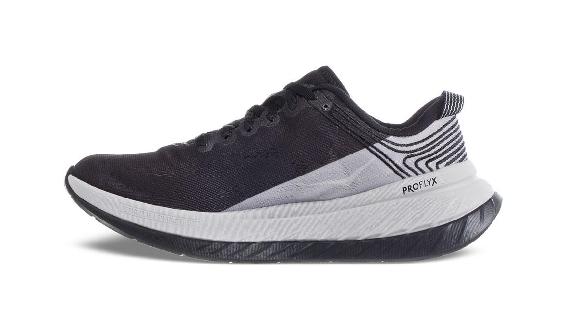 Men's Hoka One One Carbon X Running Shoe - Color: Black Cloud/Nimbus Cloud (Regular Width) - Size: 7, Black Cloud/Nimbus Cloud, large, image 4